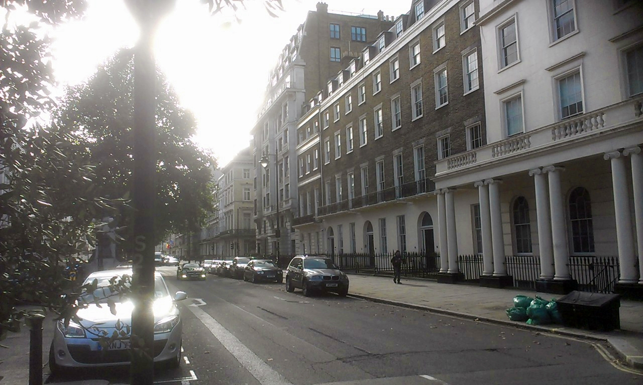 Portland Place towards Oxford Street