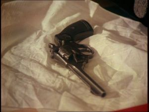 Enfield No.2 revolver in TNA Hostage